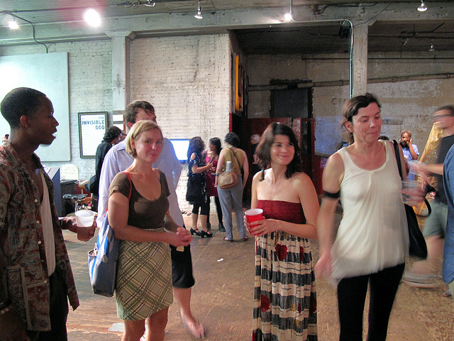 """svaartpractice's photostream  on Flickr.   A Summer 2013 highlight: photos from the MFA AP14 exhibition at Invisible Dog Art Center, """"Current Practice."""""""