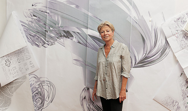 Daniel Kunitz  (Art Practice faculty) wrote  this  piece about AP mentor  Alice Aycock  for ARTINFO.