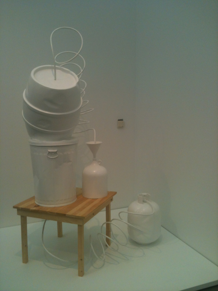Gary Simmons (Art Practice Faculty) at the MCA Chicago