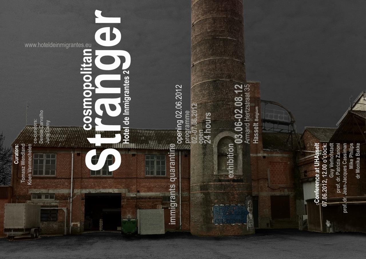 "Incoming Art Practice participant  JaeWook Lee  is included in the group show  ""Cosmopolitan Stranger""  in Hasselt Belgium."