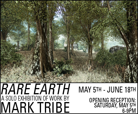 Momenta Art  presents Rare Earth , a solo show of work by Art Practice faculty member  Mark Tribe . Opening Saturday, May 5.