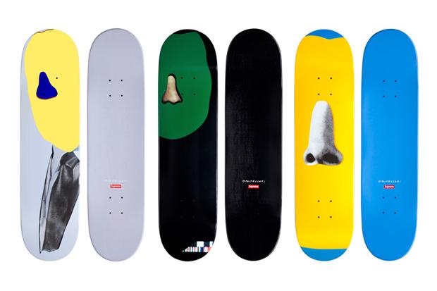 Supreme  unveils  a new line of skateboards  designed by American conceptual artist John Baldessari.