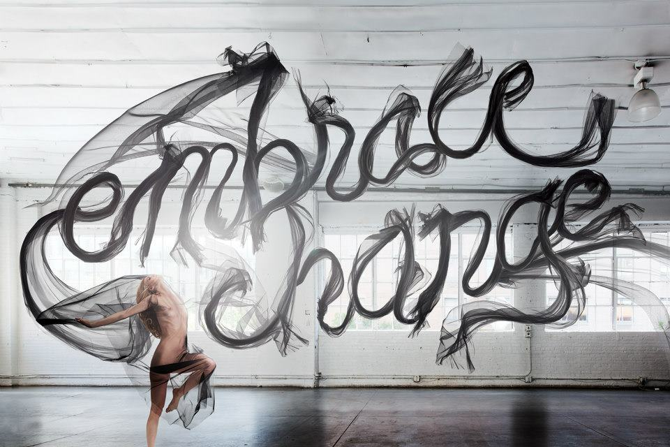 Embrace Change by Jessica Walsh