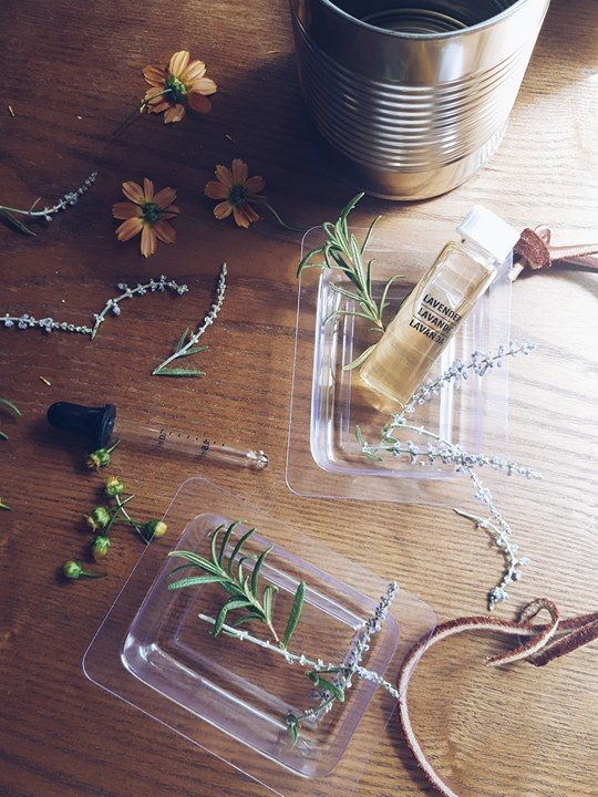 Supplies:   -Beeswax       -Essential Oil  (Lavender)      -Herbs/Flowers  (Lavender, Rosemary, and Orange/Yellow Blooms)    -Molds          -Soup Can       -Rope or String (Optional)         Tools:   -Knife   -Cutting Board   -Pot   -Oven Mit   -Tongs    -Wooden Skewer -Nail (Optional)