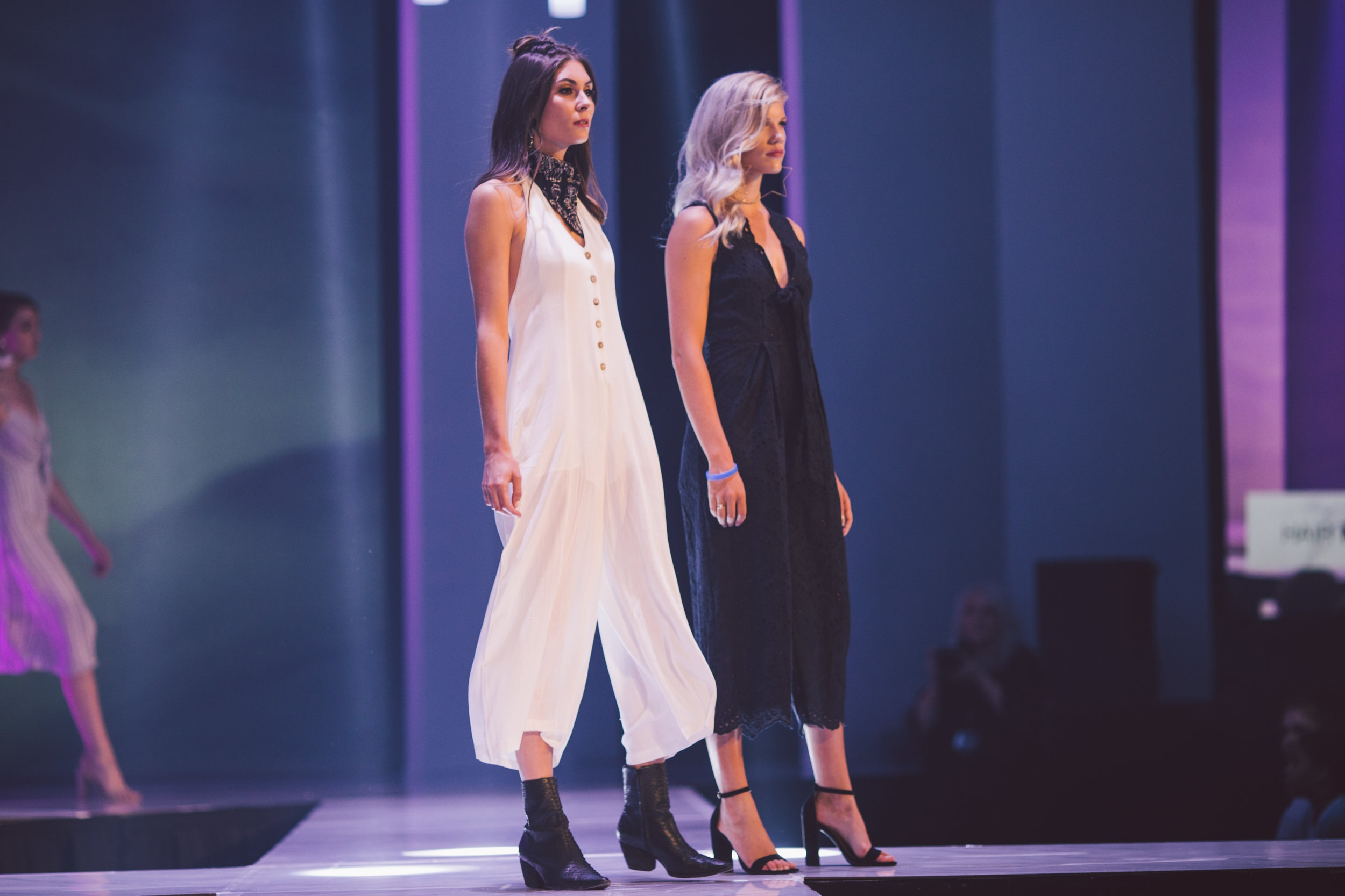 Featured on the left:  Mykonos Button Up Jumpsuit