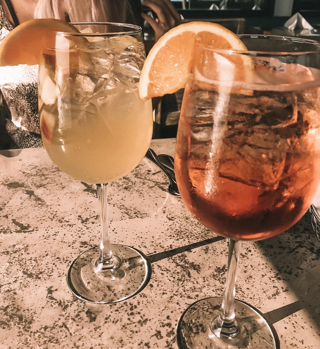 Drinks at Moonshadows