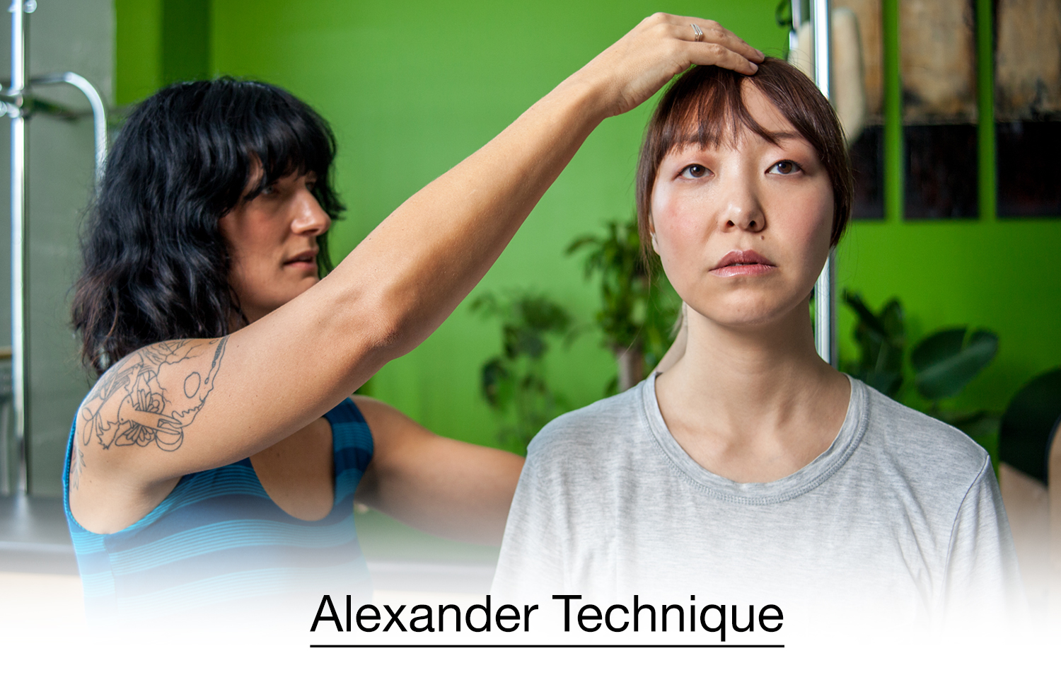 The Alexander Technique™ restores your body's balance and posture to it's natural state. By rebuilding how you walk, sit and laydown, you will re-engage with the world, and re-rember how it feels to be fully aligned. Check out our  schedule page  to sign up for a session!