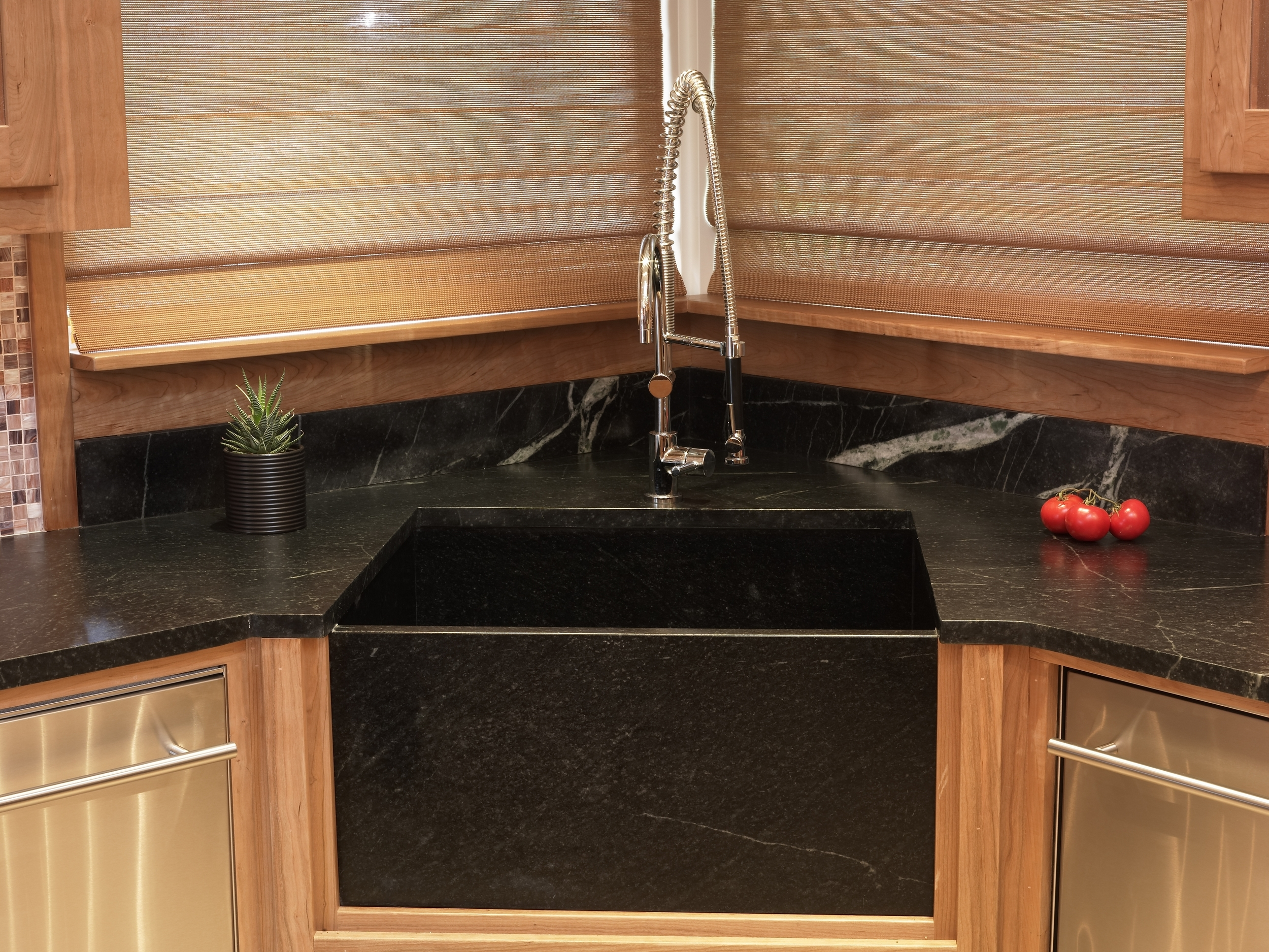 Minas Soapastone with Integrated Sink