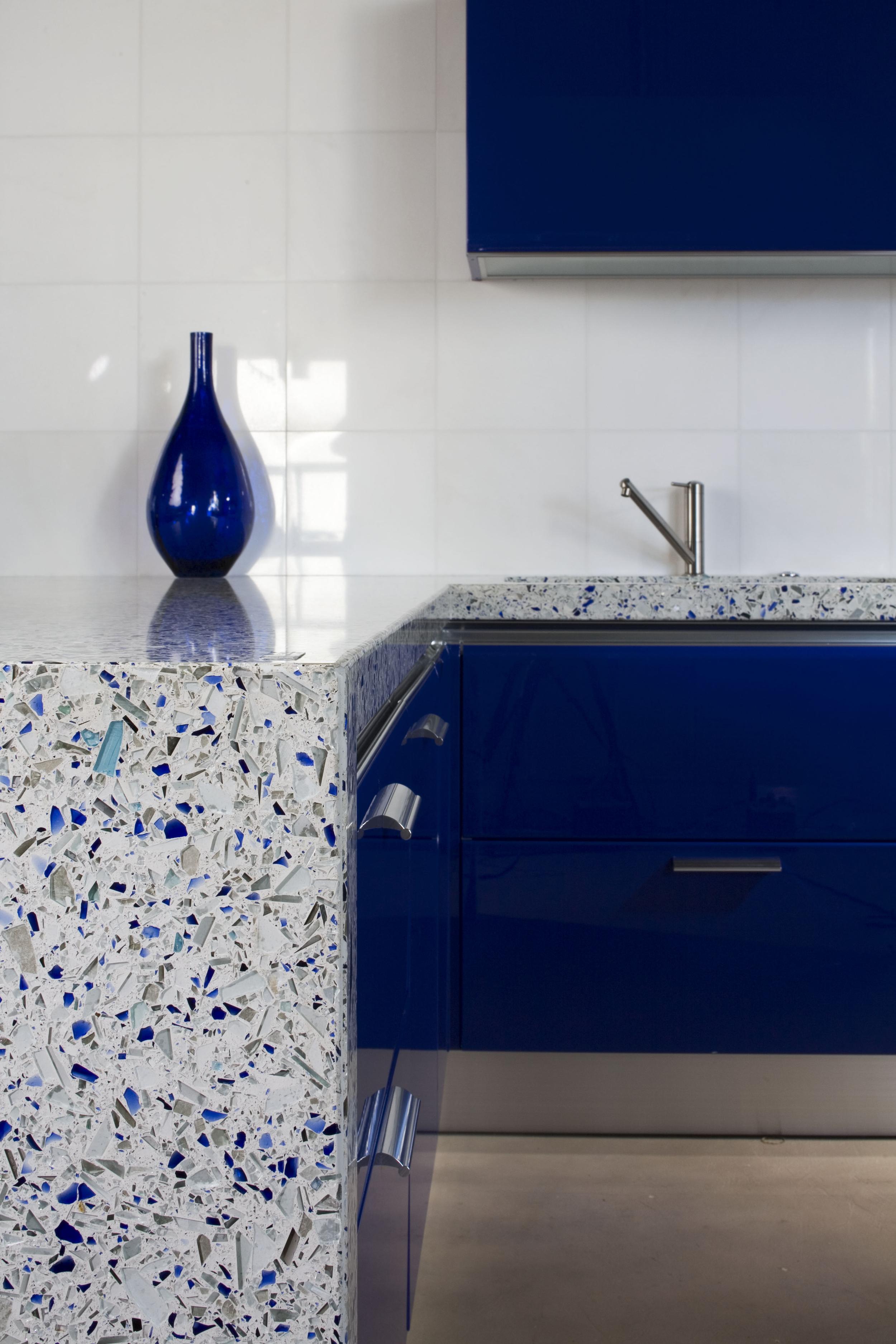 Chivalry Blue Kitchen