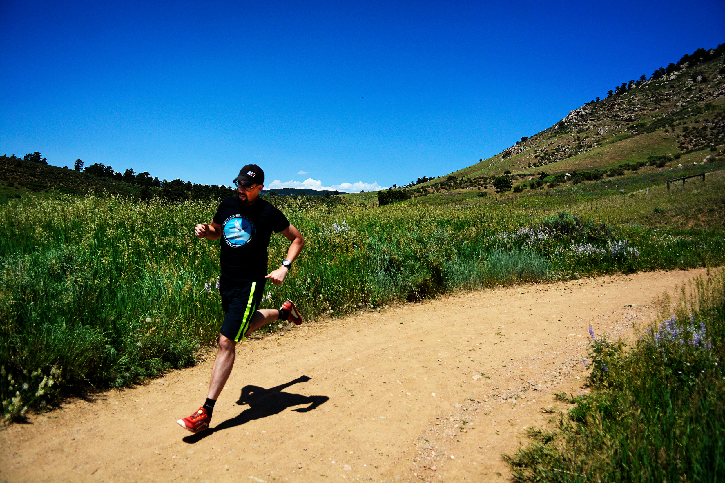 6/17 Photo: Thanks for the guest shot from my buddy Kellen. A little trail running down Horsetooth Mountain. I could get used to hiking/trail running/biking in CO.