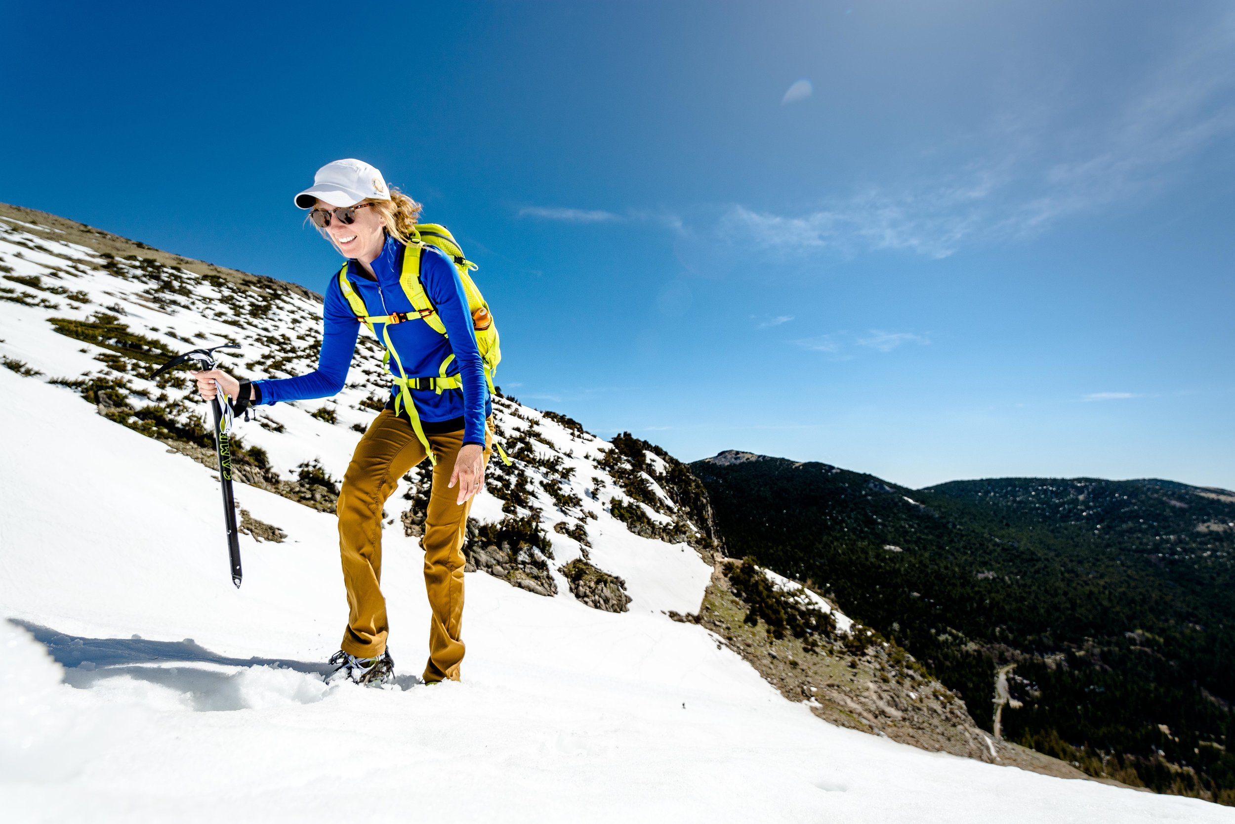 Summiting the Steeps on St. Mary's