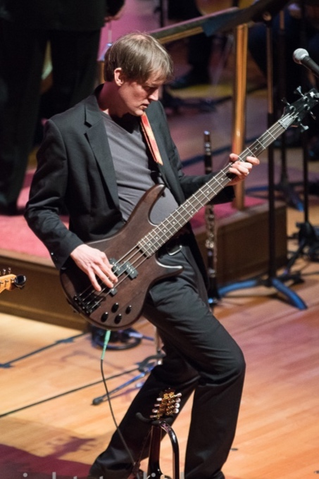 CHRISTOPHER EASTBURN - Orchestrator and Bass Guitar   Chris is an arranger, orchestrator and award-winning composer. His music has been performed to acclaim from New York's Carnegie Hall to the Getty Center in Los Angeles. Recent commissions include a ballet score for Island Moving Co. called Newport Stories, a string orchestra and chorus score for the theatre production Moses Brown and the Voyage of the Slave Ship Sally and a score for Caitlin Corbett Dance Co. called Tom's Wealth.  As a choral director and song leader Chris enjoys working with people of all ages and walks of life.  For more about Chris, including contact information and details about his compositions and additional directing, see his website at  eastburnmusic.com.