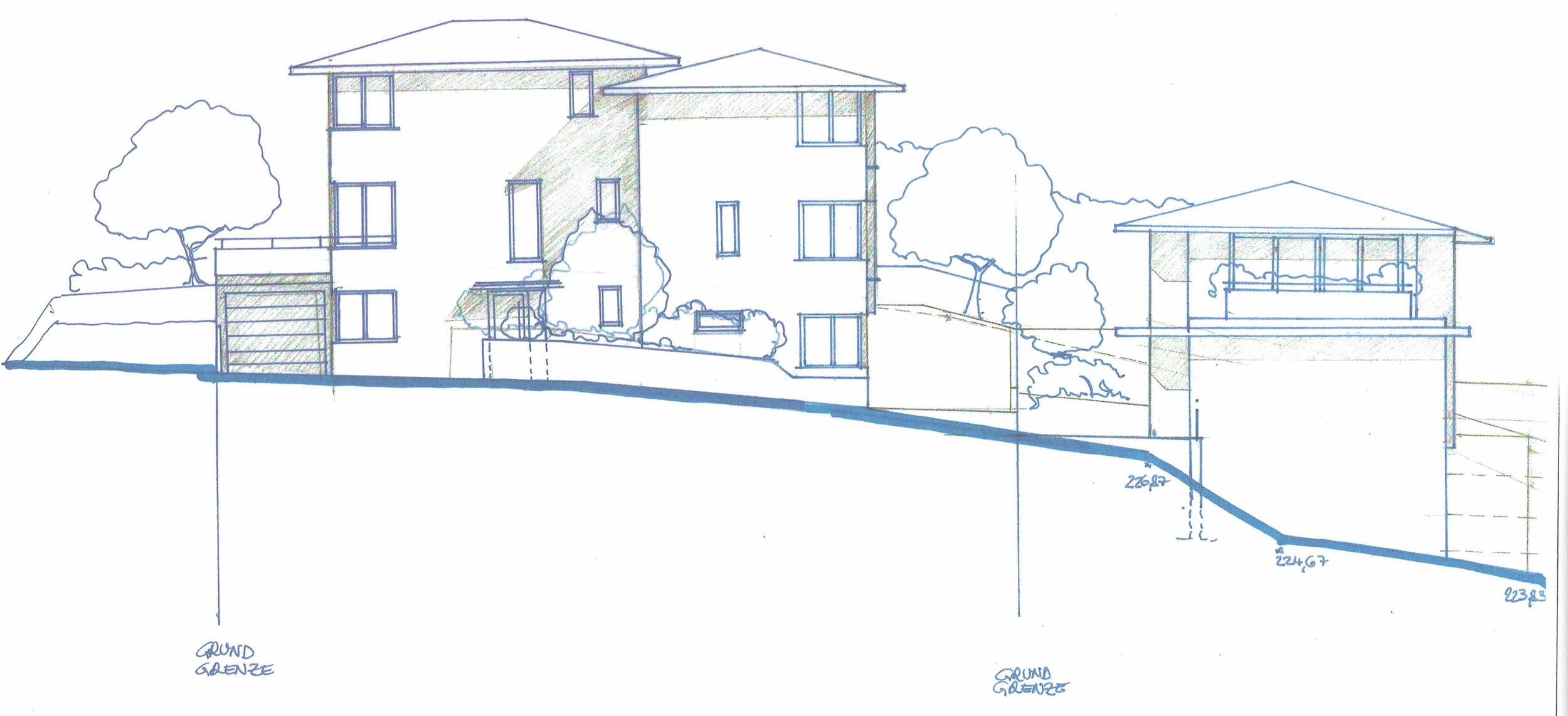 Ansicht Häuser von Zufahrt -skizze.jpg