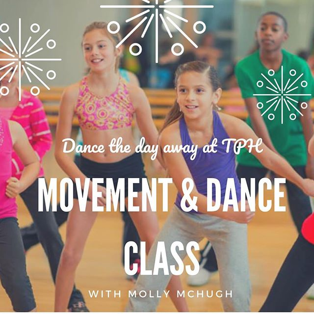 Who is ready to get up, get moving and get a little funky? Come join Miss Molly's movement and dance class this fall!