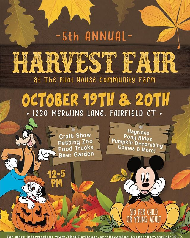 Our 5th annual Harvest Fair will be on October 19th and 20th. Hope to see you there!