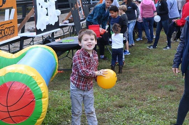 You win ! Bring the kids and enjoy some new games and old favorites at Harvest Fair.