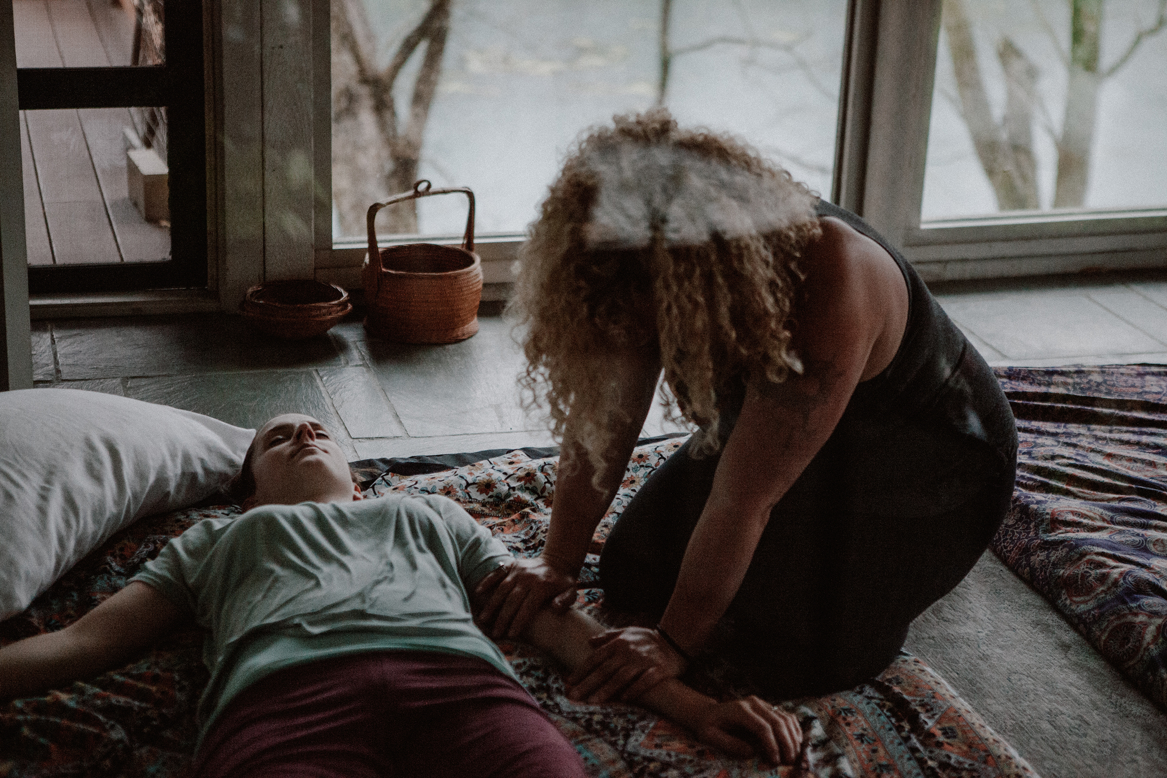 Thai Massage with Ashley Smith // Photo by Jes Scott