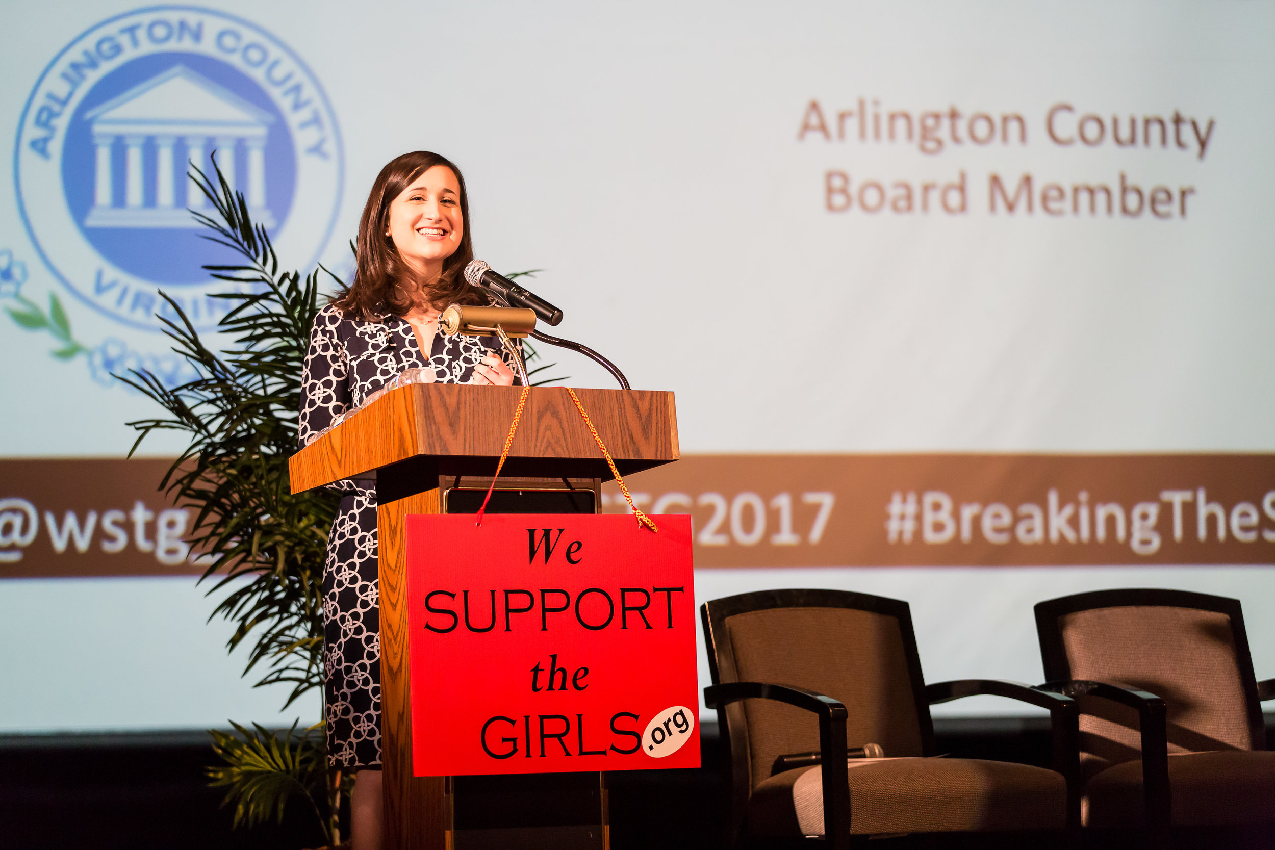 Katie Cristol, Arlington County Board member, Breaking The Silence to End Child Sexual Abuse