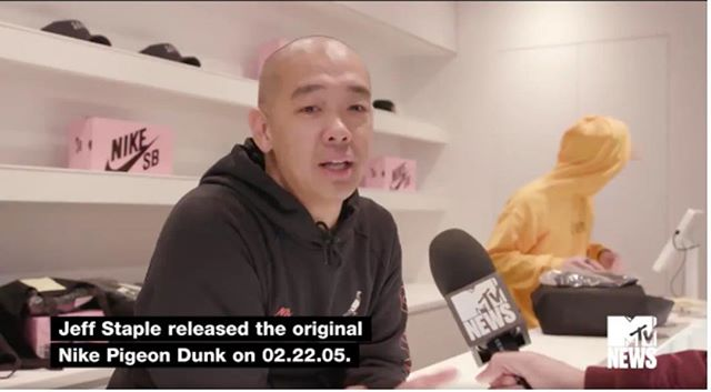 FCD 2017 speaker Jeff Staple released the first Nike Pigeon Dunk in 2005. Since then, he has transformed sneaker culture and street wear. This November, the latest Nike Pigeon Dunk was released. Still to this day, people wait in line for hours to get their hands on the latest sneaker. What is it about sneaker culture that sends people in a frenzy? Watch the MTV News interview with Staple to find out more. #StreetWear #Nike #PigeonDunk #SneakerCulture