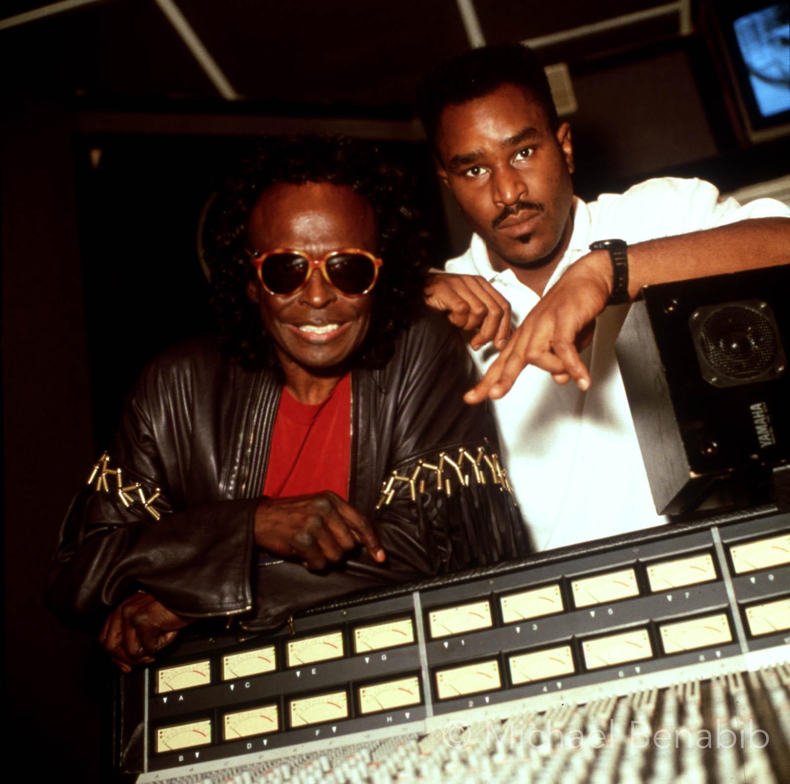 Miles Davis and Easy Mo Bee