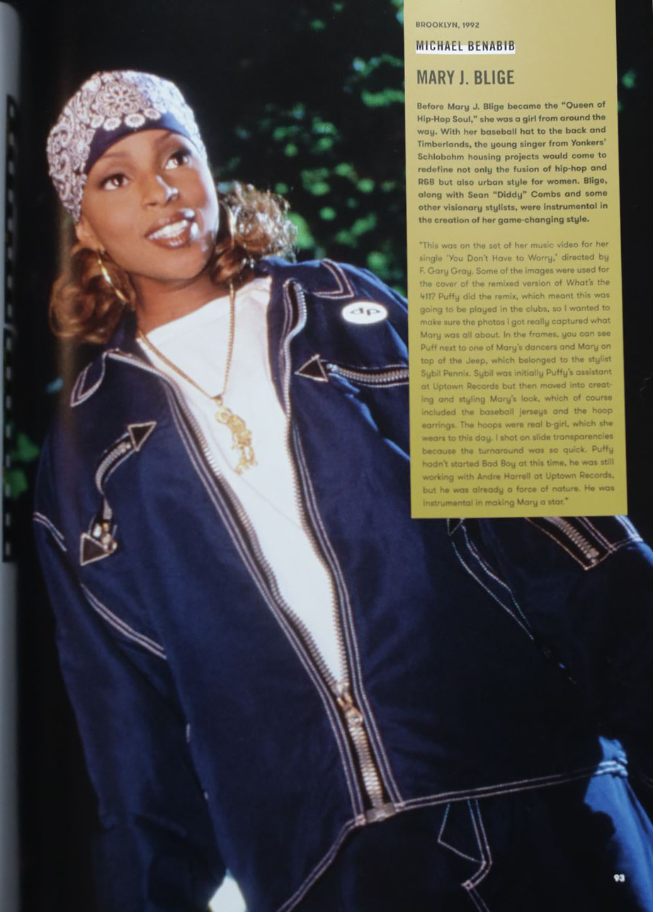 Mary J Blige Contact High with photographer Michael Benabib