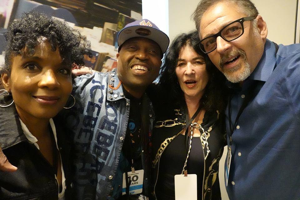 Michael Benabib with celebrity photographer friends