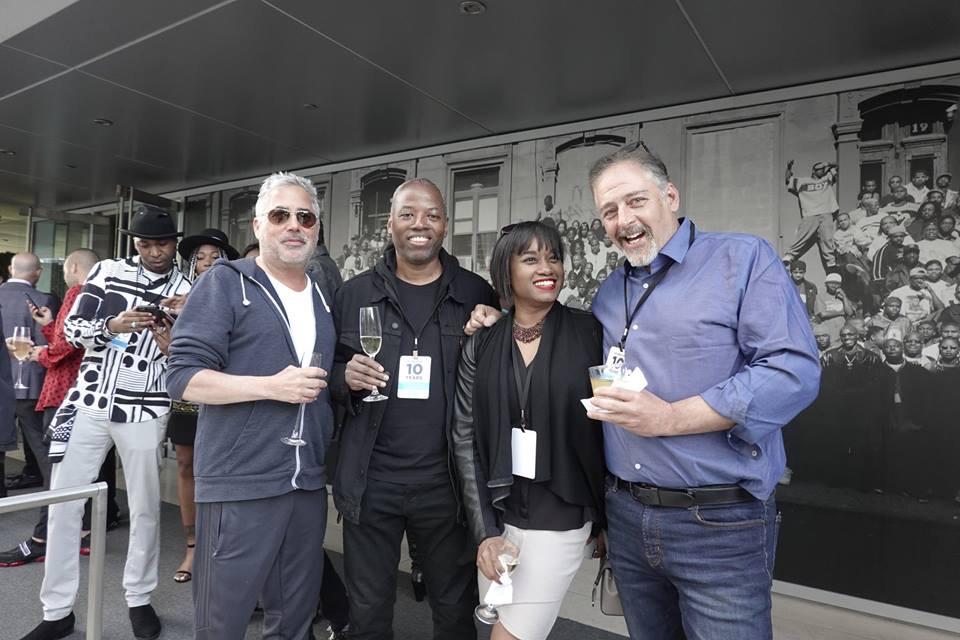 Michael Benabib with old friends