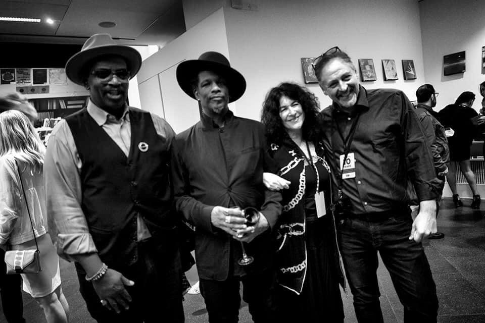 Michael Benabib with hip hop photographers