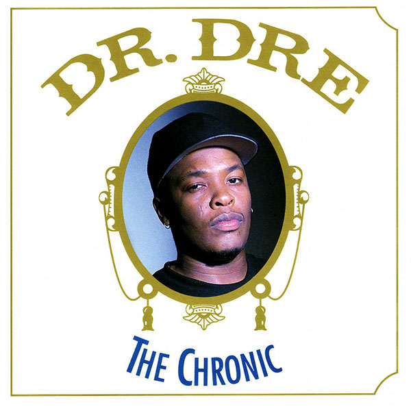 Dr. Dre The Chronic album cover by Michael Benabib