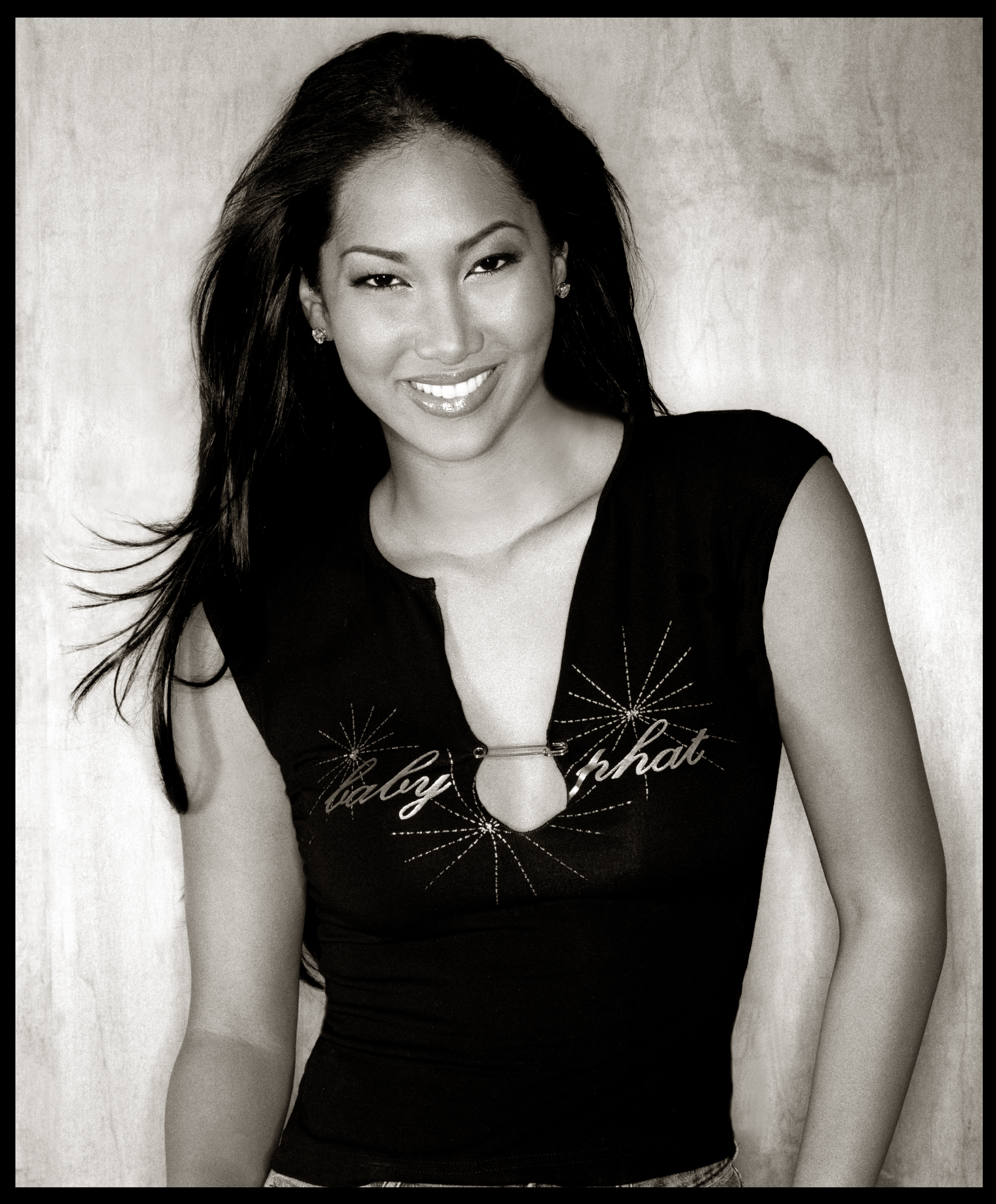 Kimora Lee Simmons B&W