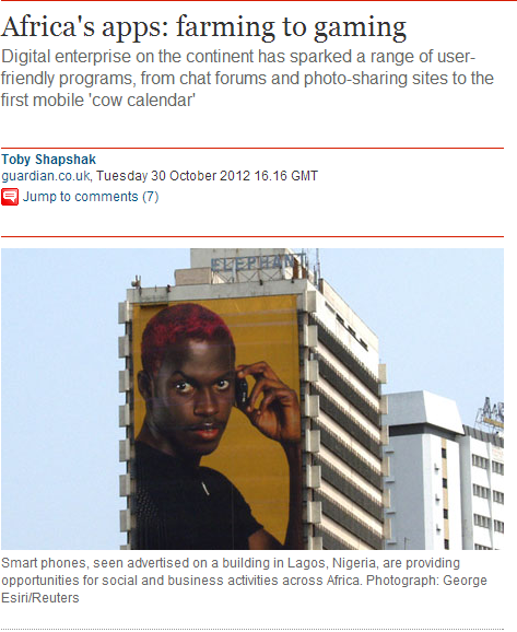 Guardian - Africa's apps