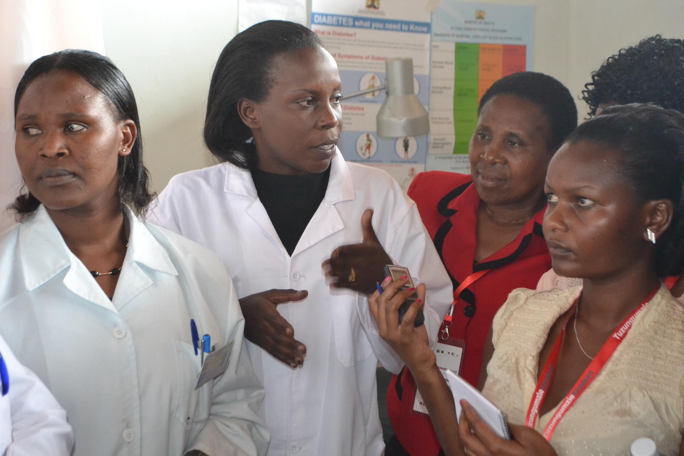 Field Trip to Rift Valley Provincial Hospital, Nakuru
