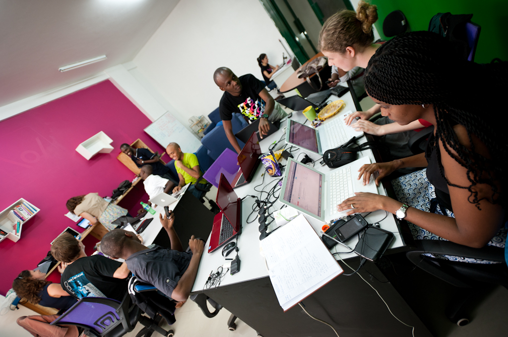 Our Nairobi office, just before v2 launch, June 2012 [rickroxburgh.com]