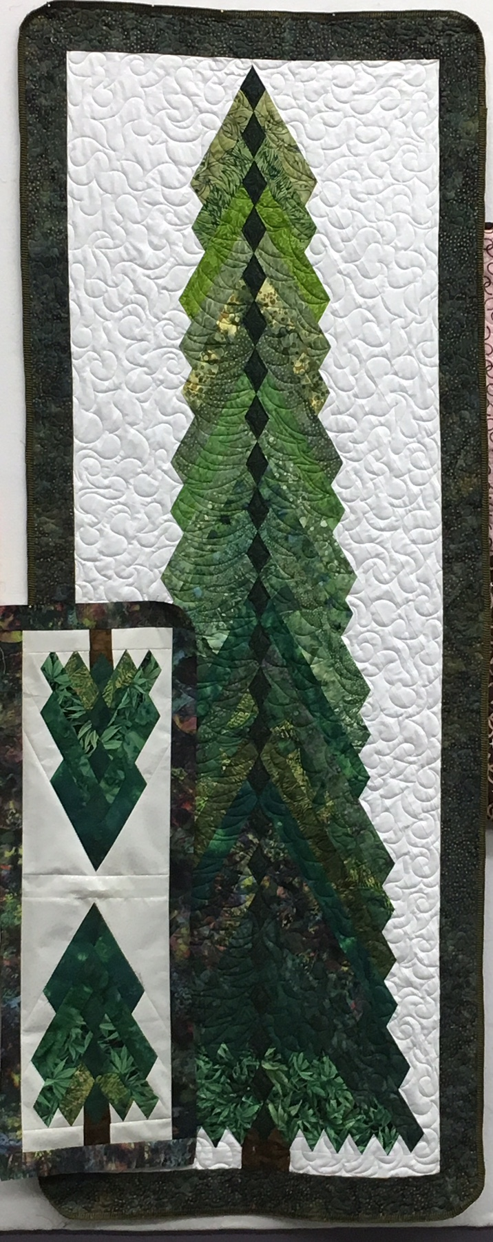 Kits available for the Tall Pines 7' tree. Sewing machine, pattern purchase and homework required.