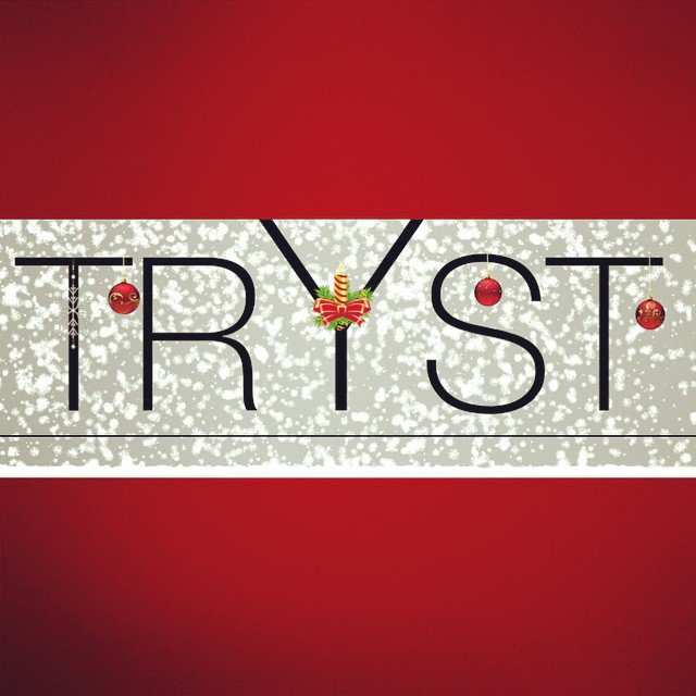 Come celebrate the season with us at our Tryst Holiday Launch party on December 4th, 8PM, at The Derby NYC! More details on Facebook!