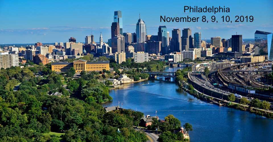 Philadelphia, PA - November 9, 10, 11, 2018