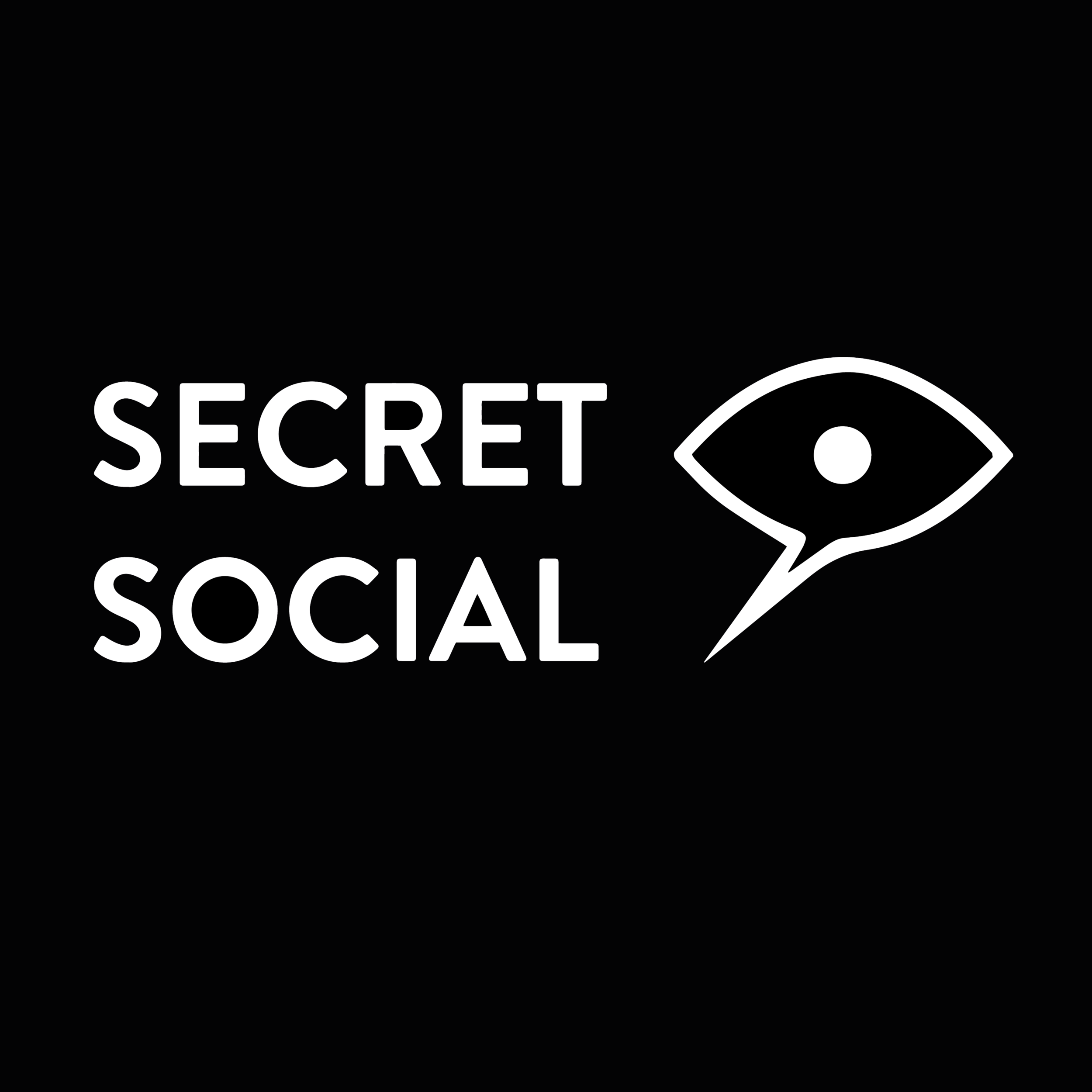 Secret Social - Branding IdentityDigital DesignEnvironmental GraphicsMarketing
