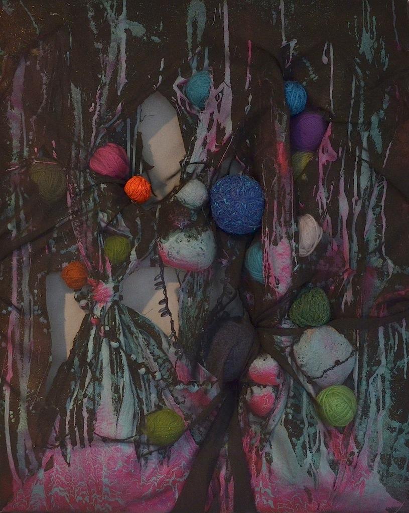 2011, Blue Balls   C ollaboration with Jillian Culver  http://www.etsy.com/shop/illJay .