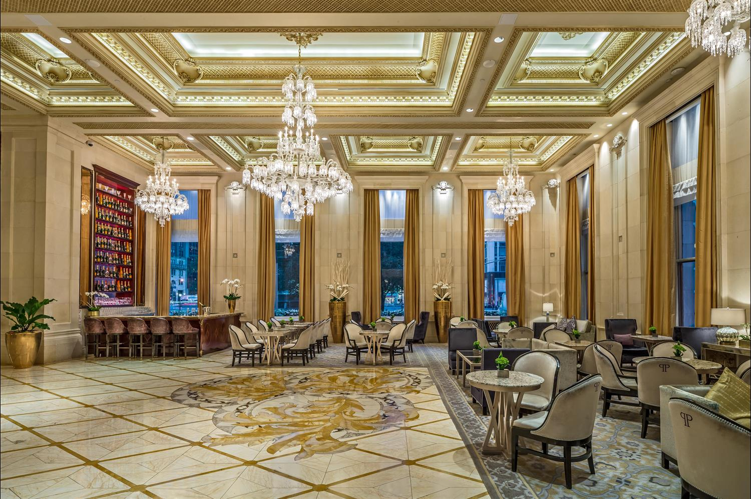 Lobby and Champagne Bar