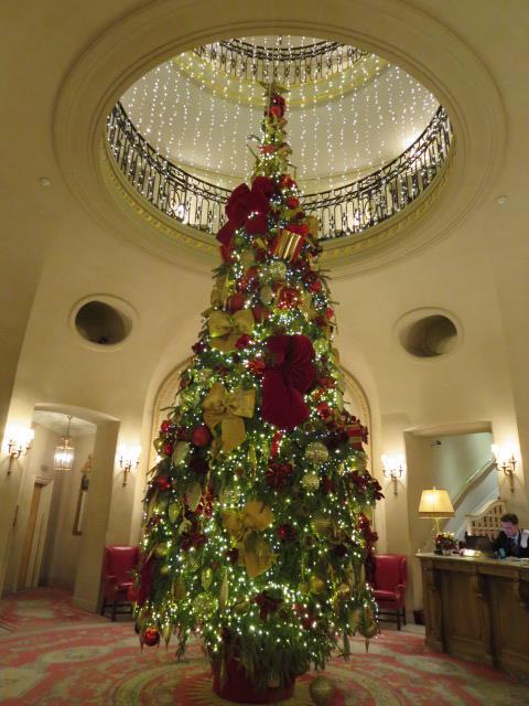 Beautifully decorated at Christmas