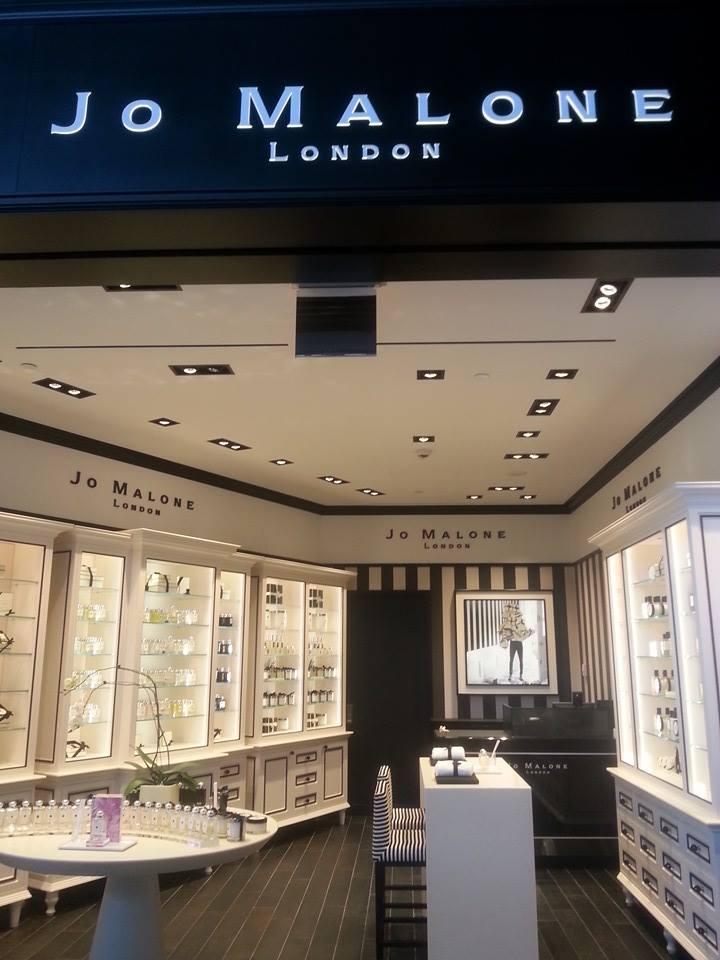 Jo Malone Boutique at Toronto's Pearson International Airport