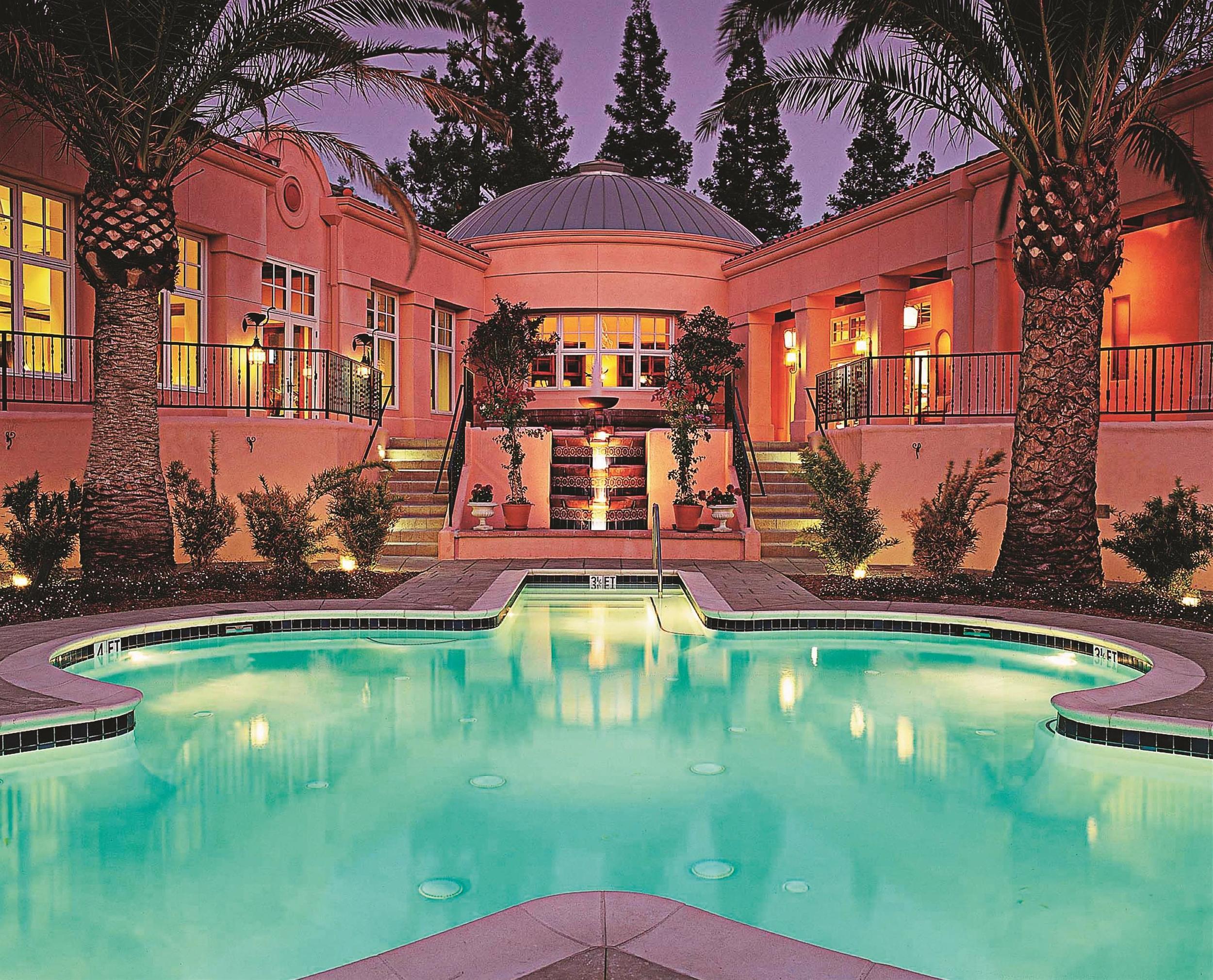 Watsu Pool at the Spa