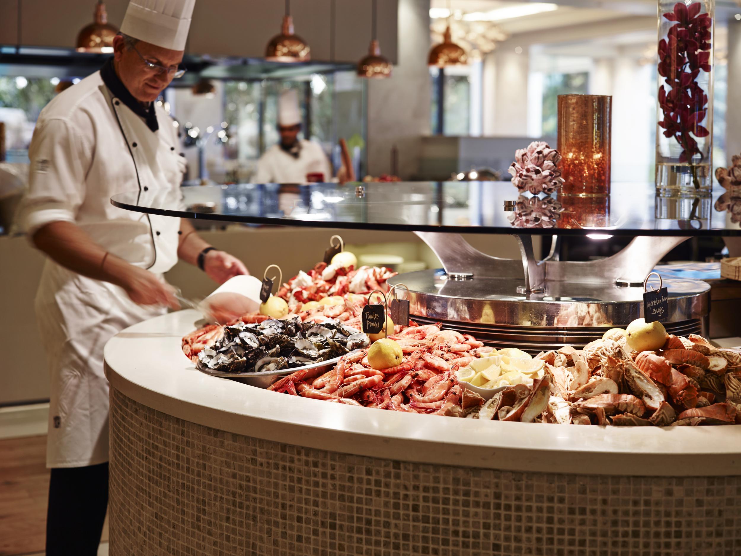 Citrique's seafood buffet