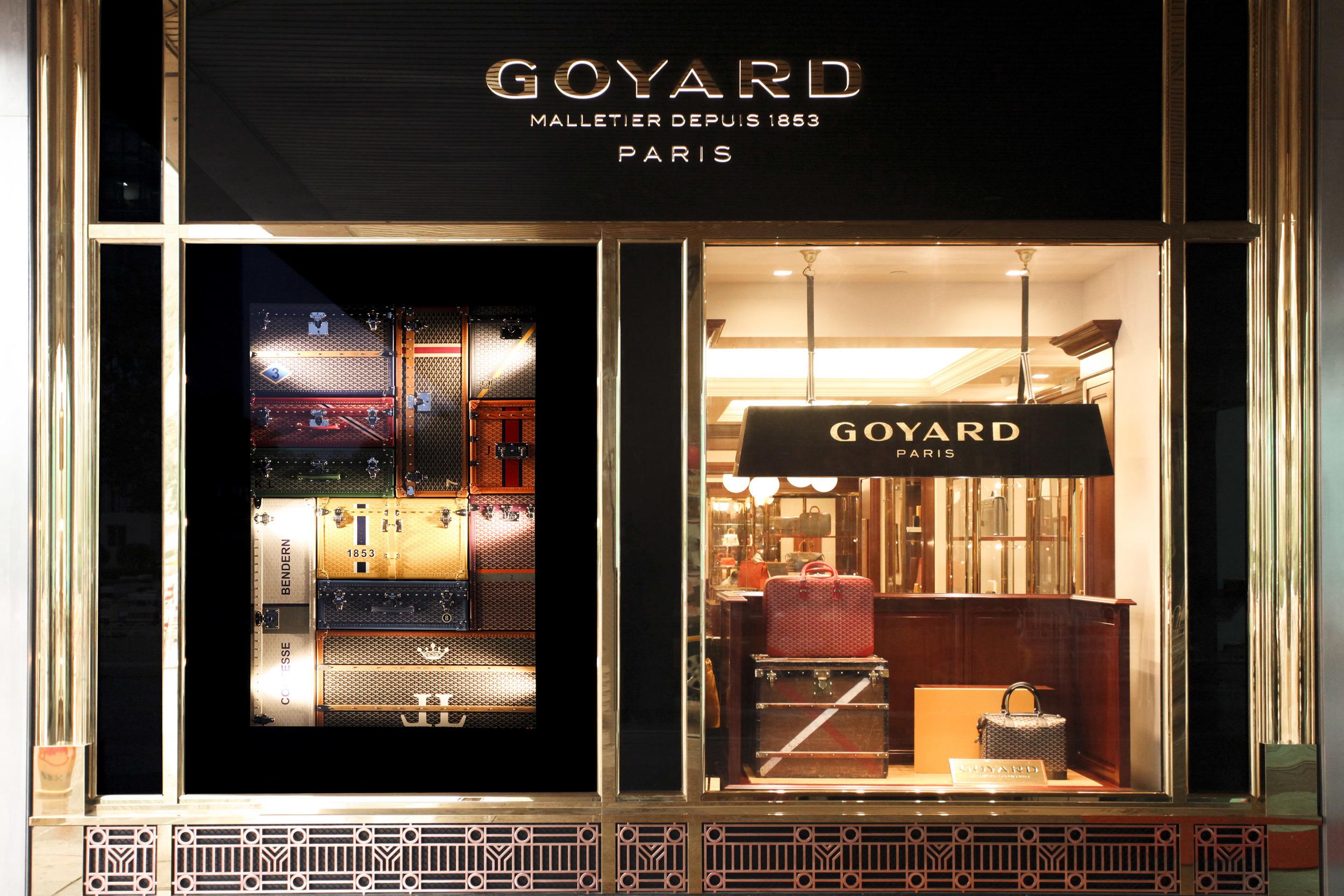 Goyard Storefront