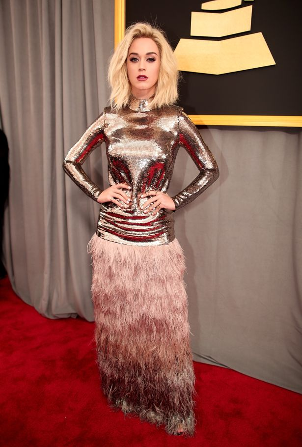 Katy Perry failing in Tom Ford