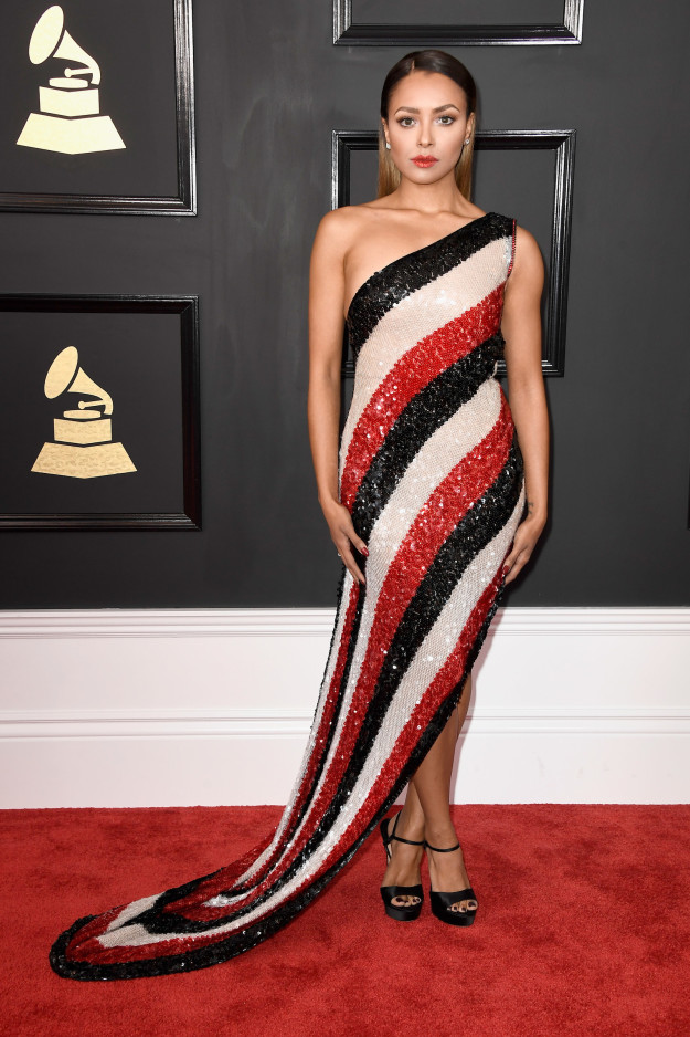 Kat Graham stuns in Jean Paul Gaultier Haute Couture
