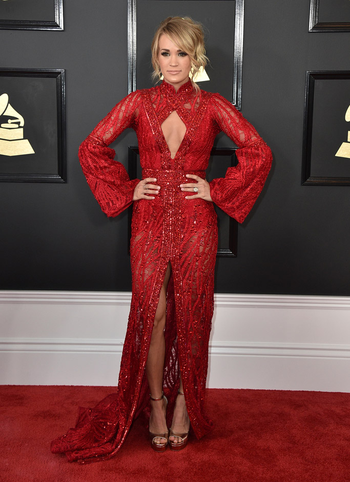 Carrie Underwood in Elie Madi