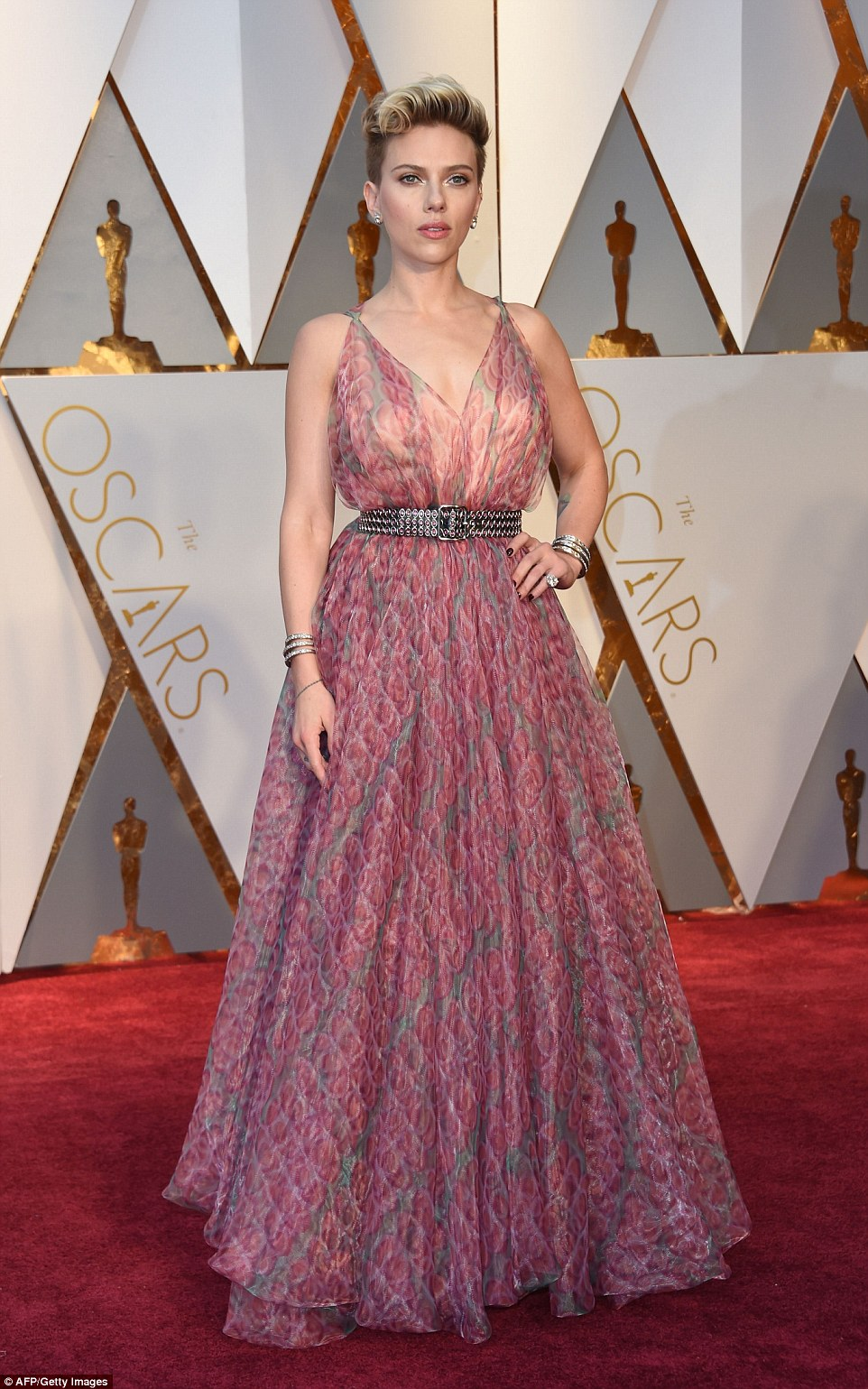 Scarlett Johansson in Azzedine Alia