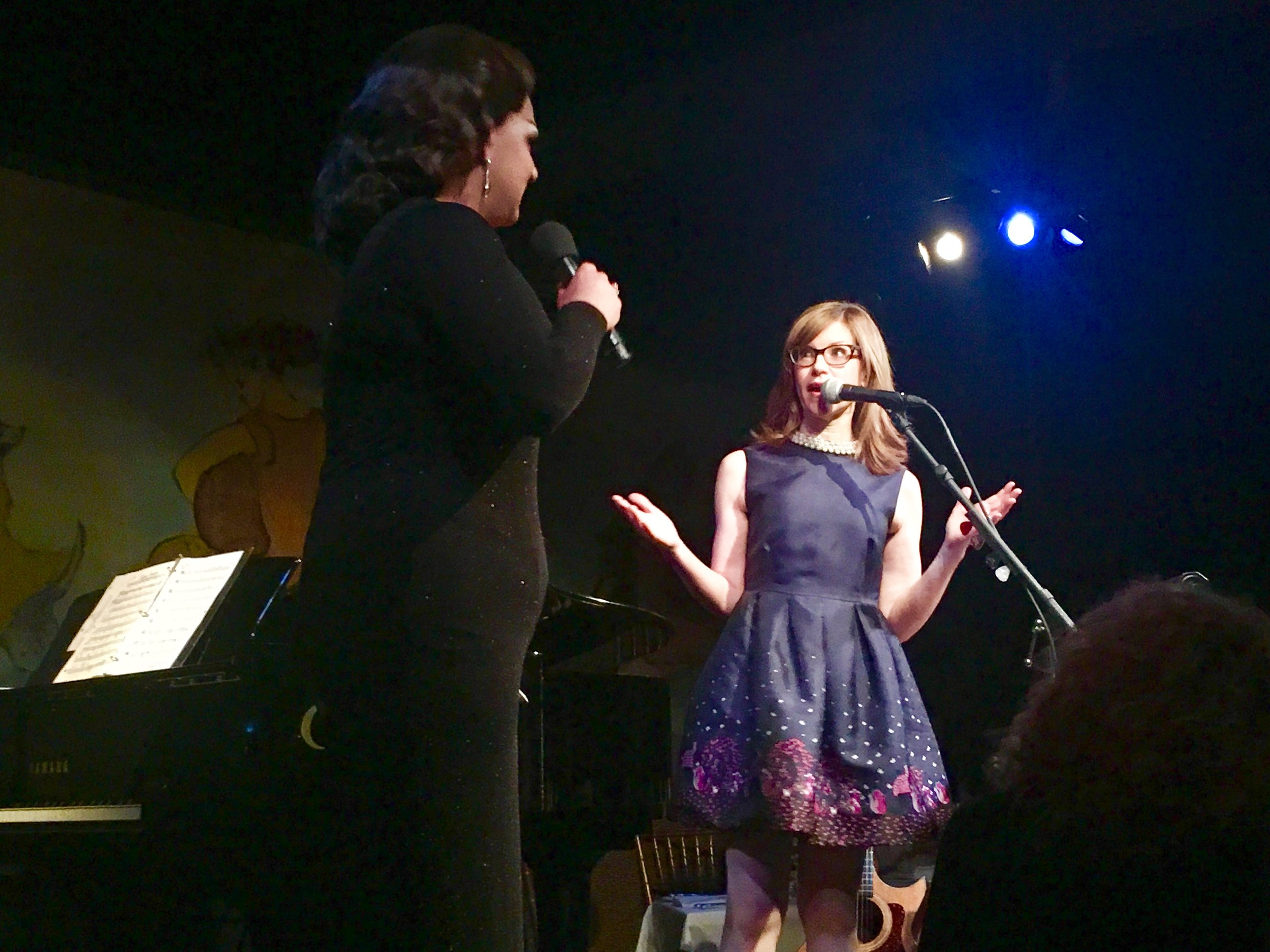 "Lisa & Alexis Michelle singing ""Rainbow Connection"""