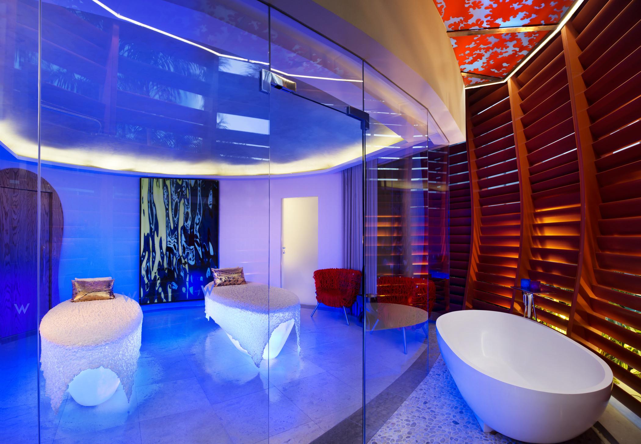 AWAY Spa treatment room